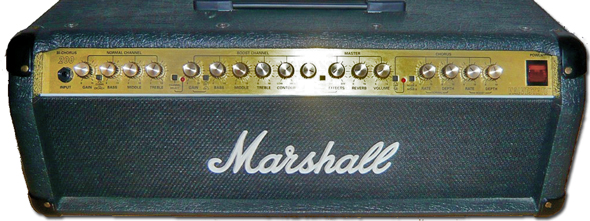 The Repair Bench  Marshall Valvestate 8200 Amplifier Head